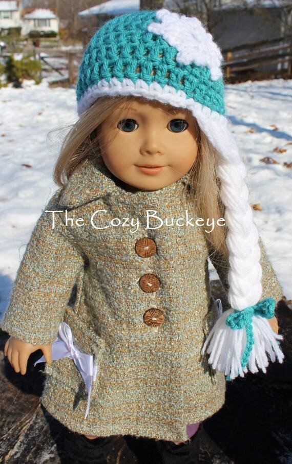 Crochet Elsa Doll : Instant Download Crochet Pattern Elsa Princess Crown Wig Hat