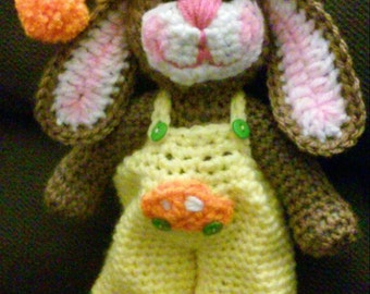 Crochet Easter Bunny amigurumi pattern only