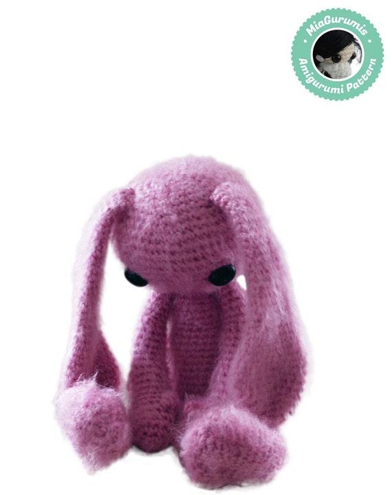 Crochet Pattern Bunny Amigurumi Pattern Amigurumi Bunny