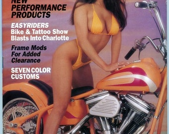 Easyriders Motorcycle Magazine  1994   Bikes and Babes   Awesome Motorcycles  Hot Gals  mature