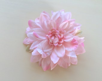 Flower Hair Clip, Flower Brooch, Dahlia Hair Clip, Bridesmaid Hair Clip, Hair Accessories, Summer Accessories, Hair Flower
