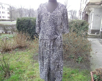 Dress jersey, animalprint, Gr. 40-42 and 44-46 by himmeldurchnadeloehr