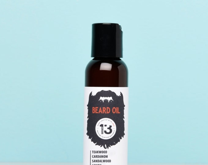 Teakwood, Cardamom, Sandalwood and Lemon Beard Conditioning Oil