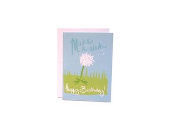 Happy Birthday Dandelion