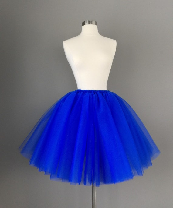royal blue tutu tulle skirt cobalt tutu any size