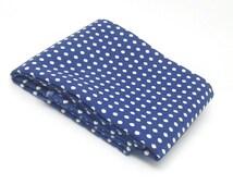 Polka dot fabric, dotty fat quarter, navy fat quarter, spotty fabric, blue fabric quarter, uk fabric supplies, sewing supplies,