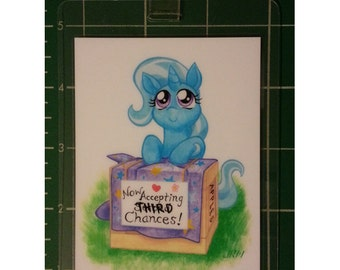 "My Little Pony 3x4"" Laminated Badge, Trixie Lulamoon"