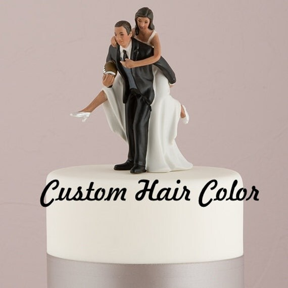 football wedding cake topper football wedding cake topper personalized by 14401