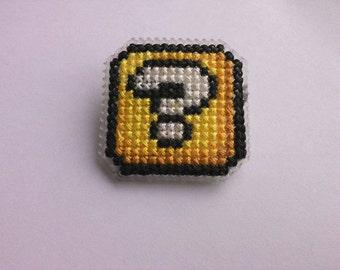 Super Mario box badge
