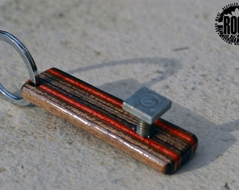 ROOT: Red Railway  - Recycled Skateboard Bottle Opener