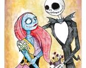 A Nightmare Romance Print