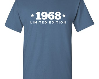 1968 Limited Edition Shirt 2017 Birthday 49th Birthday Turning 49 Born in 1968 Great Birthday Gift Milestone Mens Ladies Modern BD-419