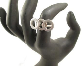 Nut Bolt Ring Etsy