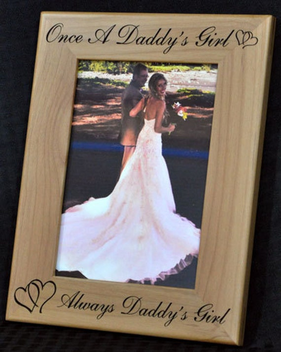 Wedding Gift To Dad From Daughter : ... Picture Frames ~ Wedding Frame ~ To Dad From Daughter ~ Dad Gifts