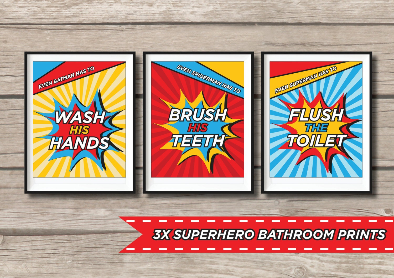 Spiderman Bathroom Set Images A1houston Com   Superman Bathroom Set    Kahtany