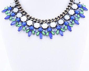 Blue 'Dream' Statement Necklace