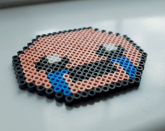 The Binding of Isaac - Isaac Perler Bead Sprite