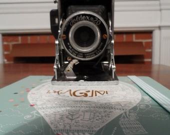Vintage Folding Camera - Foldex 20 by Pho-Tak Corp.