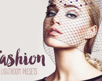 Fashion Lightroom Presets Beauty Magazine Collection, Adobe Photoshop Lightroom wedding presets action blogger fashion photography lr 6 cc