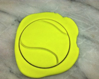 Tennis Ball Cookie Cutter - SHARP EDGES - FAST Shipping - Choose Your Own Size!