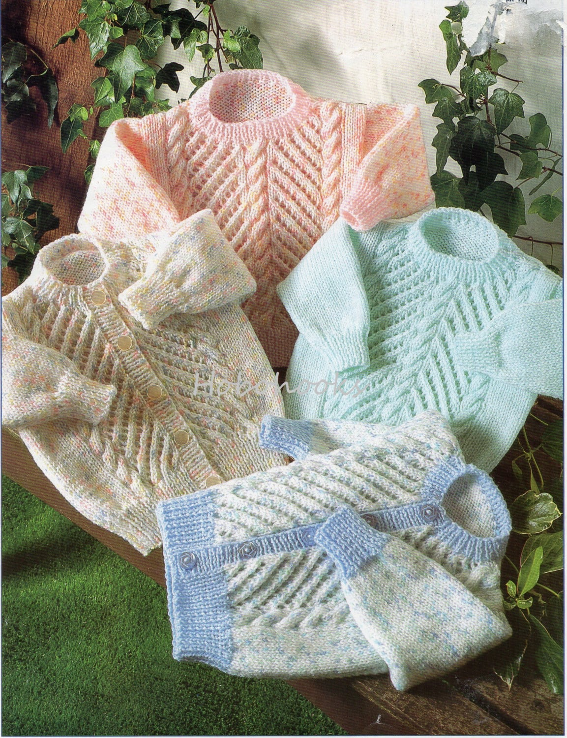 Knitting Pattern For Newborn Jumper : Baby Knitting Pattern Baby Sweater Pattern Baby Jumper Pattern