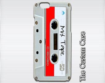 Cassette Tape Phone Case, Vintage Tape Iphone Case, Retro Mix Tape Iphone case, Iphone 4/5/5c/6/6+, Samsung Galaxy S3/S4/S5/S6/S6 Edge