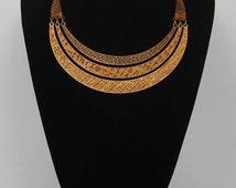 Tribal necklace Viking Runes Wood / Tribal necklace Viking runes wood