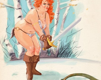 Red Hilda(Sonja)