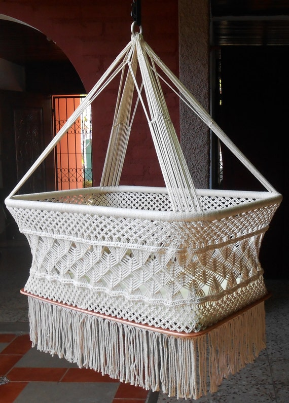 Moises Hanging Crib Available In Different Colours By
