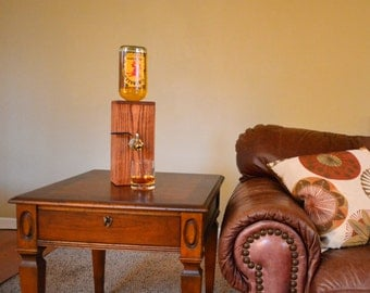 Items similar to glass barrel decanter on etsy for Mueble whisky