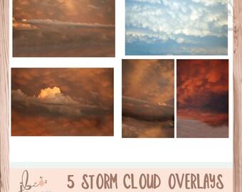5 Storm Cloud Overlays