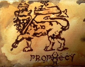 SOLD:  My Repro ~ Soulfly 'Prophecy' album art (I do not own any rights to the original artwork).