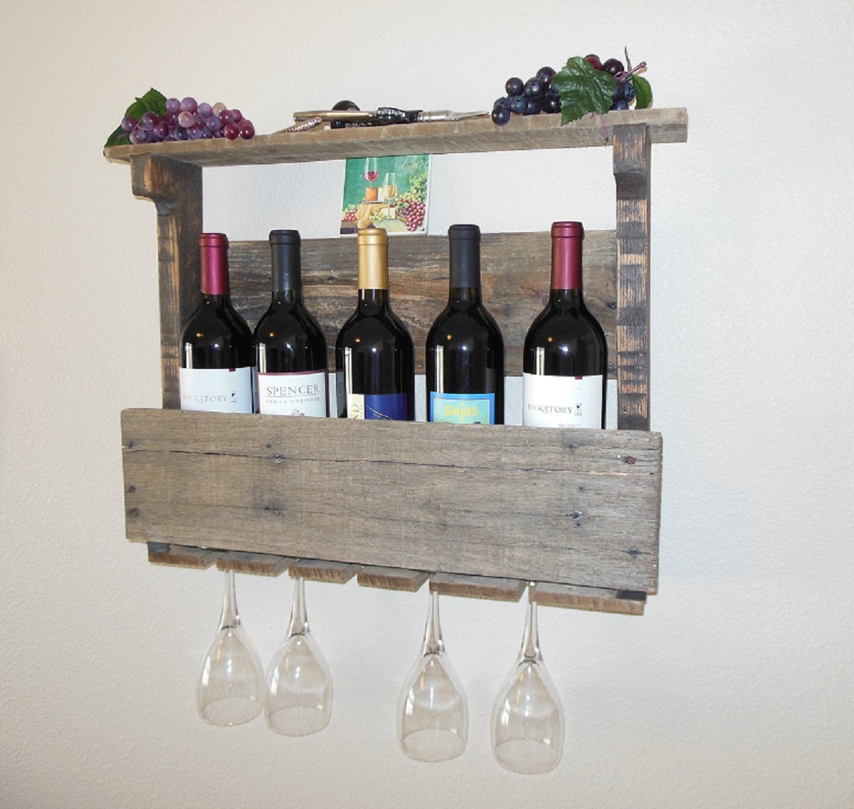 Wine bottle rack - Wine rack shaped like wine bottle ...