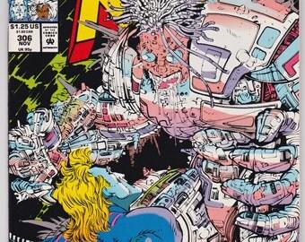 Uncanny X-Men # 306 Marvel Comics Book 1993 Very Fine to Near Mint Condition Comic Books Art
