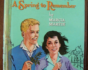 Donna Parker - A Spring to Remember - Youth Reading Book Series