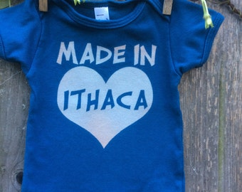 Organic Made In Ithaca Infant Tee