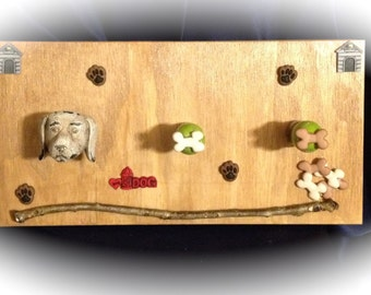 Adorable Pet Accessory wooden organizer