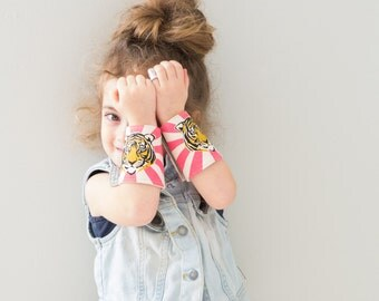 Tiger Cuffs (pair): Ready to Ship