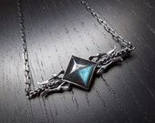 Dark Magic Necklace - Labradorite