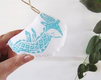 Dragon Ornament. Mini Plush. Pick Any Color. Made to Order.