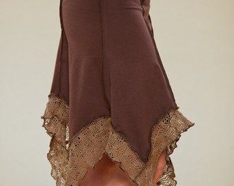 Tulip Pixie Skirt - Summer Skirt - burning man skirt - boom festival skirt - women clothing - psytrance goa skirt