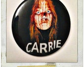 """Carrie, 1976 - Large 2 1/4"""" Pin Back Button or Pocket Mirror"""