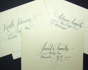 Calligraphy addressing
