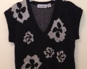 80s Diane Von Furstenberg Sweater Vest Top