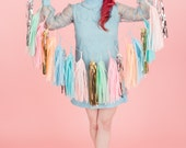 Sherbet Love Tassel Garland, Balloon or Mini (Free Shipping)