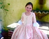 Custom Girls Colonial Dress sizes 10, 12 & 14