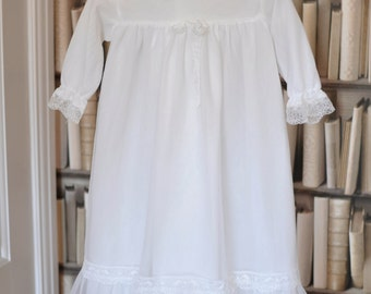 Vintage Christening Dress, Christening Dress, Baptism Gown,