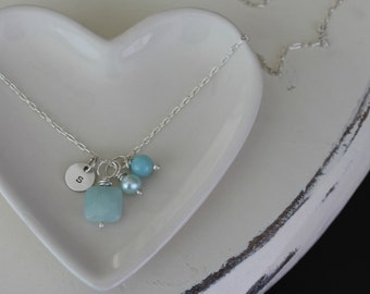 Summer beach necklace