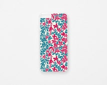 iPhone 6 Plus Case - Floral iPhone Case - Bosque Valdiviano - Flor de Chile Special Collection