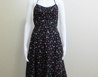 Halter Dress Paisley Small Medium